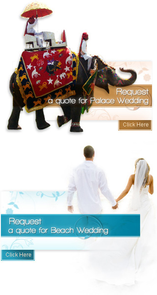 Request a Quote for Wedding